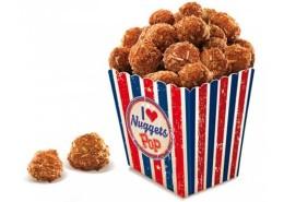 Pop nuggets congelados